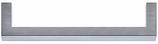 Möbelgriff Profil 10x10 mm, Serie 1375, Edelstahl matt