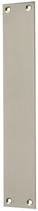 Blindschild Mega 35.046, matt vernickelt, eckig, Grösse 230x40 mm