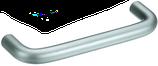 Möbelgriff ø 10 mm, Serie 1034, Stahl matt verchromt