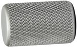 Möbelknopf Aluminium, edelstahl-optik, ø 17,5 mm