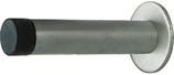 Wand-Türpuffer ø 15 mm, Edelstahl, mit Rosette