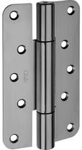 Paumellenband GLUTZ STN16146, Edelstahl, Lappen 160x35 mm
