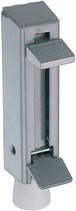Türfeststeller Aluminium, Teleskop-Modell, Hub 55 mm
