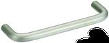 Möbelgriff ø 8 mm, Serie 1002, Stahl matt vernickelt