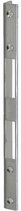 Winkelschliessblech B-1307.131, Grösse 240x18x20 mm, verzinkt, eckige Ausführung