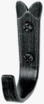 Mantelhaken, Serie 1605, Stahl verzinkt patiniert