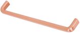 Möbelgriff, Serie 2207, Zamak gebürstet kupferfarbig