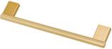 Möbelgriff, Serie 2219, Aluminium gebürstet goldfarbig