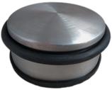 Boden-Türpuffer ø 98 mm, Höhe 43 mm, 1,1 kg, Edelstahl