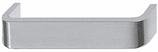 Möbelgriff Profil 20x6 mm, Serie 2202, Aluminium farblos eloxiert