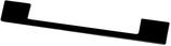 Möbelgriff, Serie 2209, Zamak matt schwarz