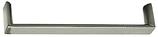 Möbelgriff, Serie 2222, Aluminium edelstahlfinish, Lochabstand 160 mm