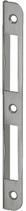 Winkelschliessblech B-1001.231, Grösse 167x18x12,5 mm, abgerundete Ausführung
