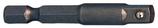 """Stecknuss-Adapter 1/4"""", Länge 50 mm"""