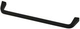 Möbelgriff, Serie 2208, Zamak matt schwarz, Lochabstand 160 mm