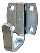 Mantelhaken 1-teilig, Serie 1223, Stahl verzinkt