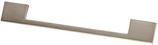 Möbelgriff, Serie 2209, Zamak gebürstet vernickelt