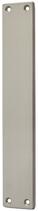 Blindschild Mega 35.440, matt vernickelt, eckig, Grösse 200x35 mm