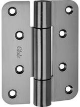Paumellenband GLUTZ STN12146, Edelstahl, Lappen 120x35 mm