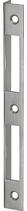 Winkelschliessblech B-1001.131, Grösse 167x18x12,5 mm, verzinkt, eckige Ausführung