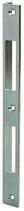 Winkelschliessblech 1870.11/20, Grösse 200x15x20 mm, Edelstahl, eckige Ausführung