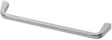 Möbelgriff, Serie 2208, Zamak poliert verchromt, Lochabstand 160 mm