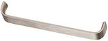 Möbelgriff, Serie 2218, Aluminium edelstahlfinish