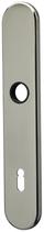 Langschild Mega 35.452, matt vernickelt, abgerundet, Grösse 224x40 mm, Führung 16 mm