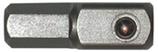 """Stecknuss-Adapter 1/4"""", Länge 25 mm"""