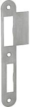 Lappenschliessblech B-1102.431, Grösse 163x23/43 mm, abgerundete Ausführung