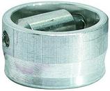 Rollkloben, zu Halbrundstange 10x3 mm