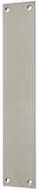 Blindschild Mega 35.047, matt vernickelt, eckig, Grösse 250x50 mm