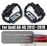 2 x Semi Dynamische Blinker Modul für Rückleuchten Laufblinker für Audi A6/S6/RS6 V.1
