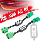 2 x Semi Dynamische Blinker Modul für Rückleuchten Laufblinker für Audi A3/S3/RS3 8V