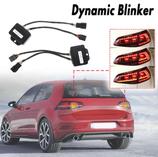 2 x Semi Dynamische Blinker Modul für Rückleuchten Laufblinker für VW Golf 7