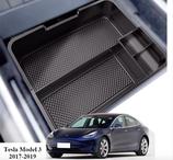 Tesla Model 3 Organizer Box Einlage Mittelkonsole