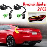 2 x Semi Dynamische Blinker Modul für LED Rückleuchten Laufblinker für Audi A5 mit LED Rückleuchten