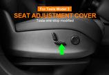 Tesla Model 3 Sitzverstellung Knopf Carbon Cover