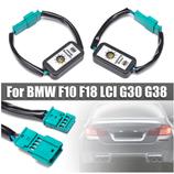 2 x Semi Dynamische Blinker Modul für Rückleuchten Laufblinker für BMW F10 F18 LCI G30 G38