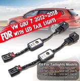 2 x Semi Dynamische Blinker Modul für Rückleuchten Laufblinker für VW Golf 7 mit LED Rückleuchten