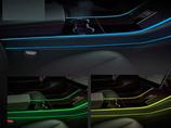Tesla Model 3 Mittelkonsole Beleuchtung RGB