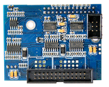 moncha.display upgrade externe ILDA-input Steuerung