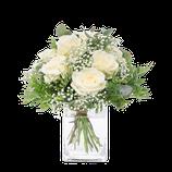 - 146 - Weißer Rosenstrauß