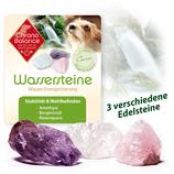 Wassersteine für Hund und Besitzer zur Wasserenergetisierung