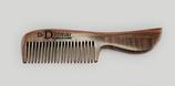 Eleganter Bartkamm aus Palisander (groß)