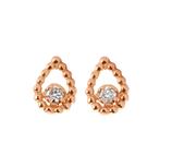 Boucles d'oreilles Poire Lucky Diamants