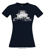 Trabbi T-Shirt · navy · Frauenschnitt