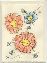 Grußkarte handmade 24