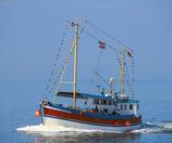 ab Büsum/Nordsee   bis max. 40 Personen (Corona bedingt max. 25 Personen) (Einzelfahrt Mo.-Fr.) -  Aufpreis auf unseren Basispreis Seebestattungen 1295.- €