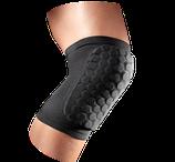 Баскетбольный наколенник короткий компрессионный с защитными накладками черный